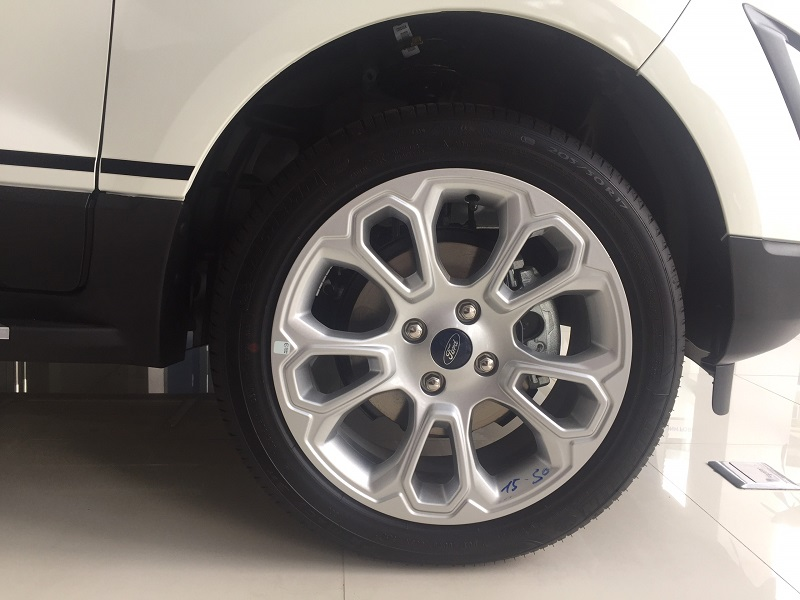 cỡ lốp xe ford ecosport
