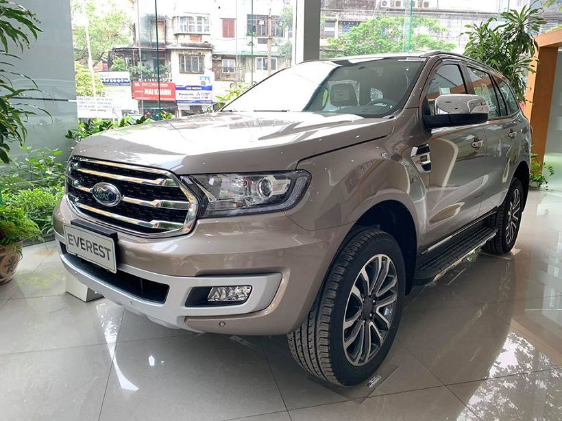 bảng giá xe ford everest