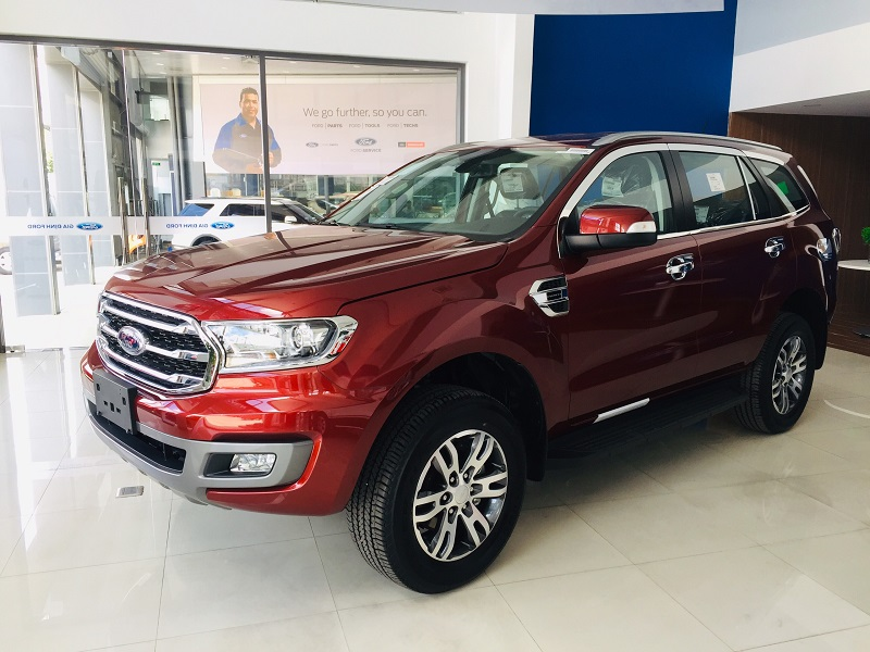 Xe ford Everest Trend Giá rẻ